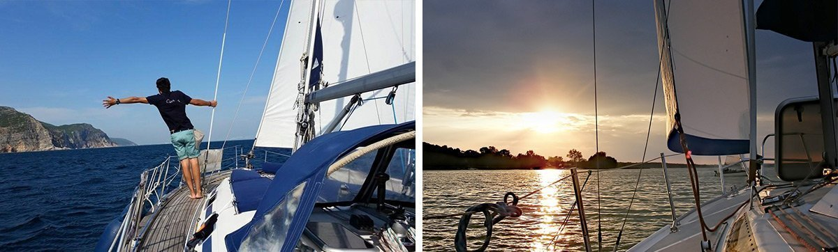 Sailboat rental in Lisbon with skipper